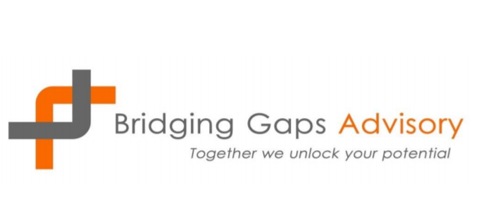 Bridging Gaps Advisory's Logo'