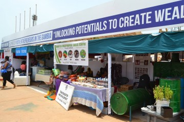 Youth Pavillion @ GCCI Trade Fair Gambia International (TFGI)