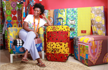 """""""In 2017, my business expanded from four to nine outlets. We support young entrepreneuers to sell their products and provide them with a retail space and training on business management and crastsmanship."""""""