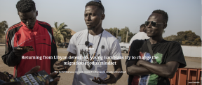 Returning from Libyan detention, young Gambians try to change the migration exodus mindset - COVER IMAGE