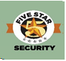 Five Star Security's Logo'