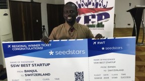 Gambian agri-business platform Money Farm wins Seedstars Banjul - COVER IMAGE