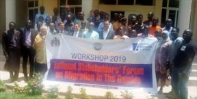 National stakeholders' forum on migration ends - COVER IMAGE
