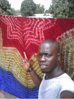 Sukuta youth Baboucarr Janko makes wave in Tye and Dye industry - COVER IMAGE