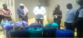 JTGA donates sanitary materials to CRR security institutions - COVER IMAGE