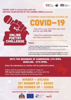 Poetry to help save lives during COVID-19 - COVER IMAGE