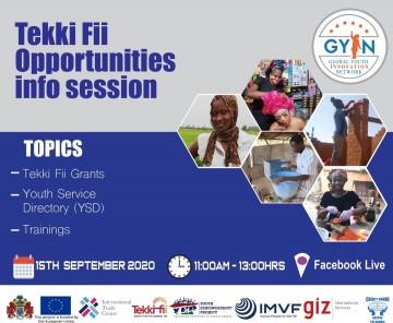 Tekki Fii Opportunities Info Session